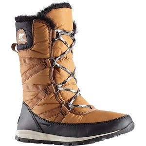 SOREL Tall Whitney boots size 7.5 camel brown